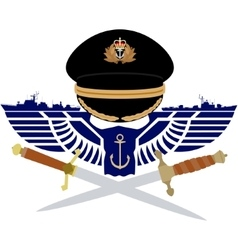 Icon Royal Navy vector image