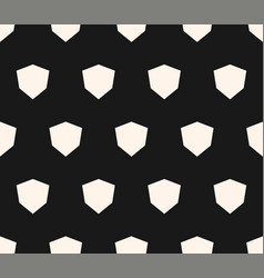 simple geometric seamless pattern with diamond vector image vector image