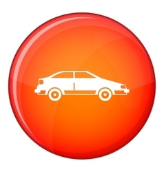 Car icon flat style vector