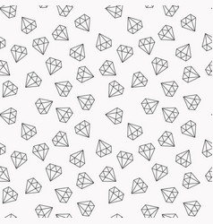 Diamonds random seamless pattern or vector