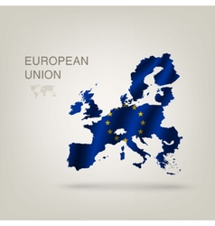 Flag of EUROPEAN UNION as a country vector image