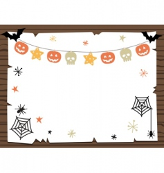 Halloween sign vector image