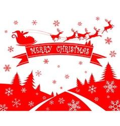 Merry cristmas vector