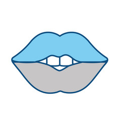 sexy woman lips vector image