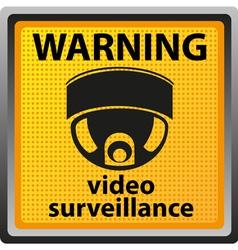 video surveillance camera 03 vector image vector image