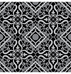 keltic pattern black vector image vector image