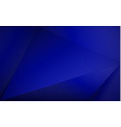 Abstract blue royal 3d polygonal background vector