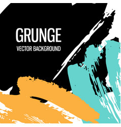 abstract hand drawn grunge background texture vector image
