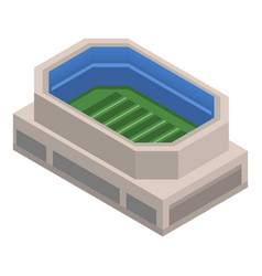 american football arena icon isometric style vector image