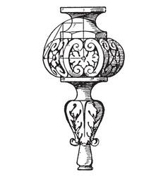 chandelier pendant knob stunning chandeliers vector image