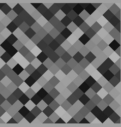 Grey abstract square pattern background - design vector