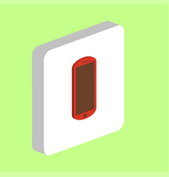 mobile computer symbol vector image