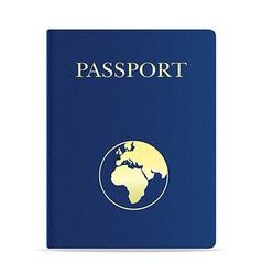 passport 01 vector image