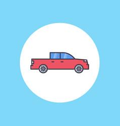 pickup icon sign symbol vector image