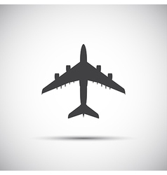 Plane icon simple vector image