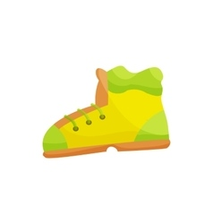 Shoes icon cartoon style vector
