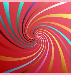 Twist spiral swirl twirl element colored radial vector
