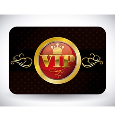 vip member vector image