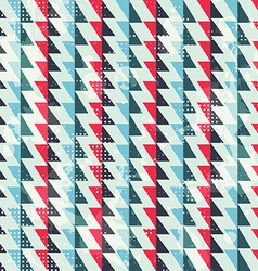zigzag lines seamless pattern vector image