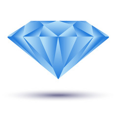 Icon design with concept diamond vector image vector image