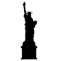 Liberty statue vector image vector image