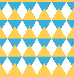 abstract seamless geometric pattern of triangles vector image
