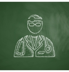 Doctor icon vector