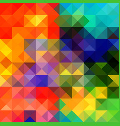 multicolor geometric triangular gradient vector image