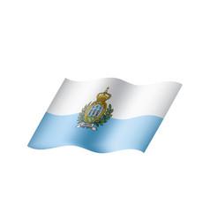 San marino flag vector