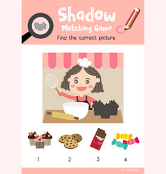 Shadow matching game marine life 1 vector