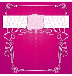 lace purple background vector image vector image