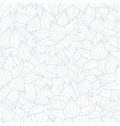 light grey succulent plant texture drawing vector image vector image