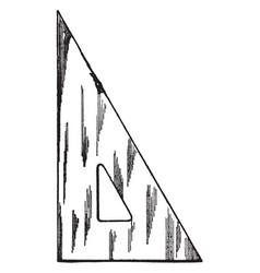 30-60 degree triangle length of the shorter leg vector