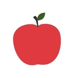 apple fruit health food isolated vector image