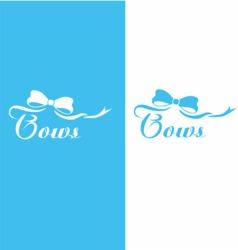 Bows logo vector
