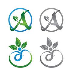Life healt logo vector