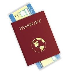 passport 04 vector image