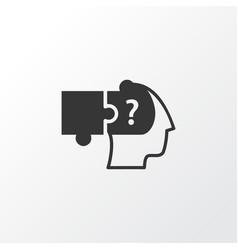 problem solving icon symbol premium quality vector image