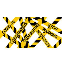 quarantine background medical design influenza vector image