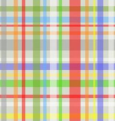 Seamless plaid pattern-grey vector image