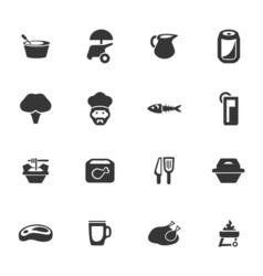 Food 6 vector image