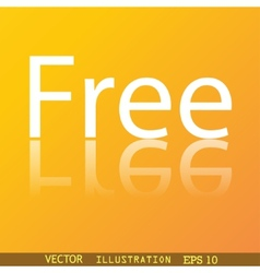 Free icon symbol Flat modern web design with vector image