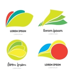 modern icon design vector image