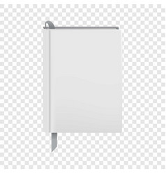 One diary icon realistic style vector