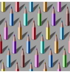 Pencil pattern vector image