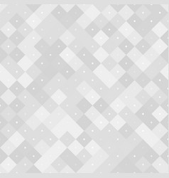 seamless neutral pattern with pixels vector image