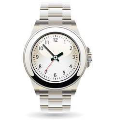wristwatch vector image vector image