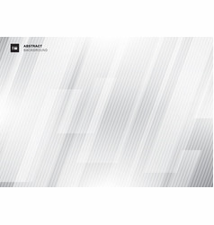 Abstract modern technology concept gray geometric vector