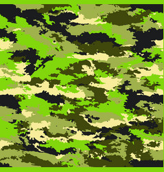 camouflage military background vector image