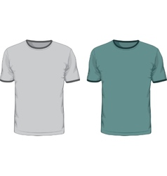 Mens t shirts design template vector